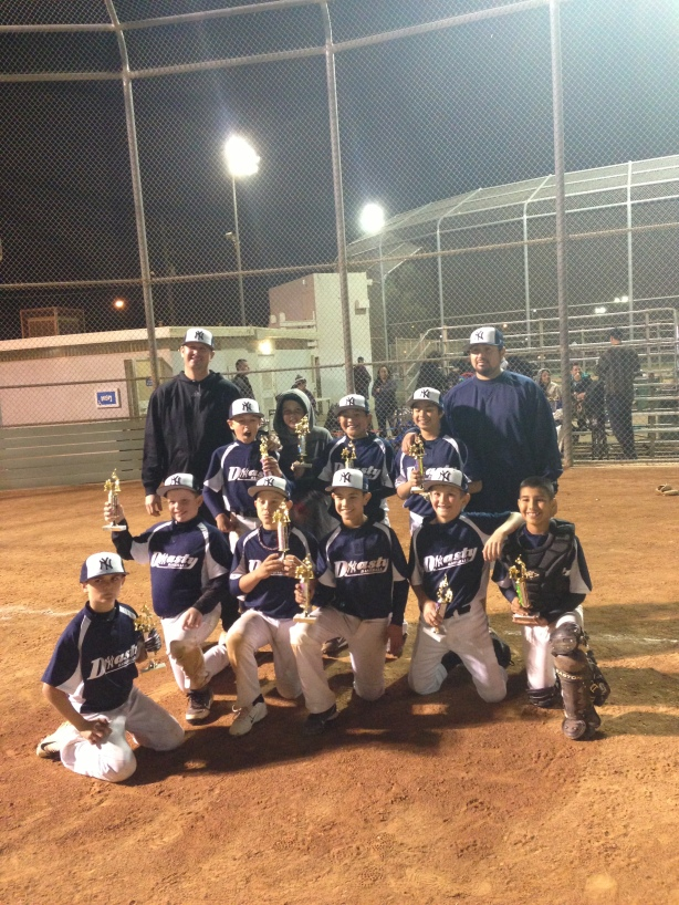 DYNASTY WINS SUNDAY TOURNAMENT MARCH 2013